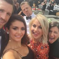 """Group selfie"" - Emmy Awards - September 12, 2015 Courtesy ninadobrev twitter"